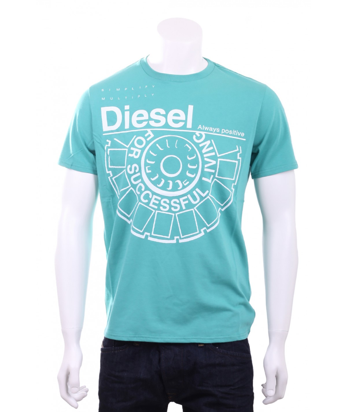 DIESEL T-Shirt Uomo For...