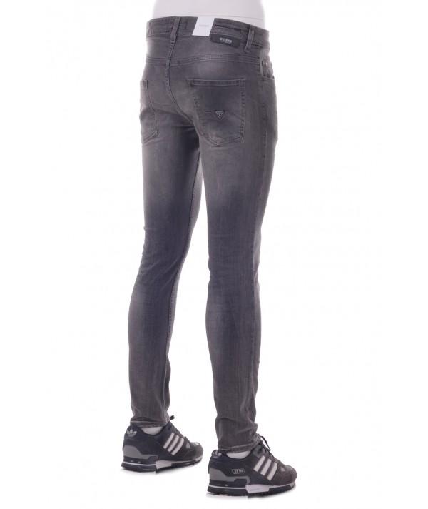 Guess Jeans Uomo Denim Chris Skin Tight M83A27 UCLA Grey