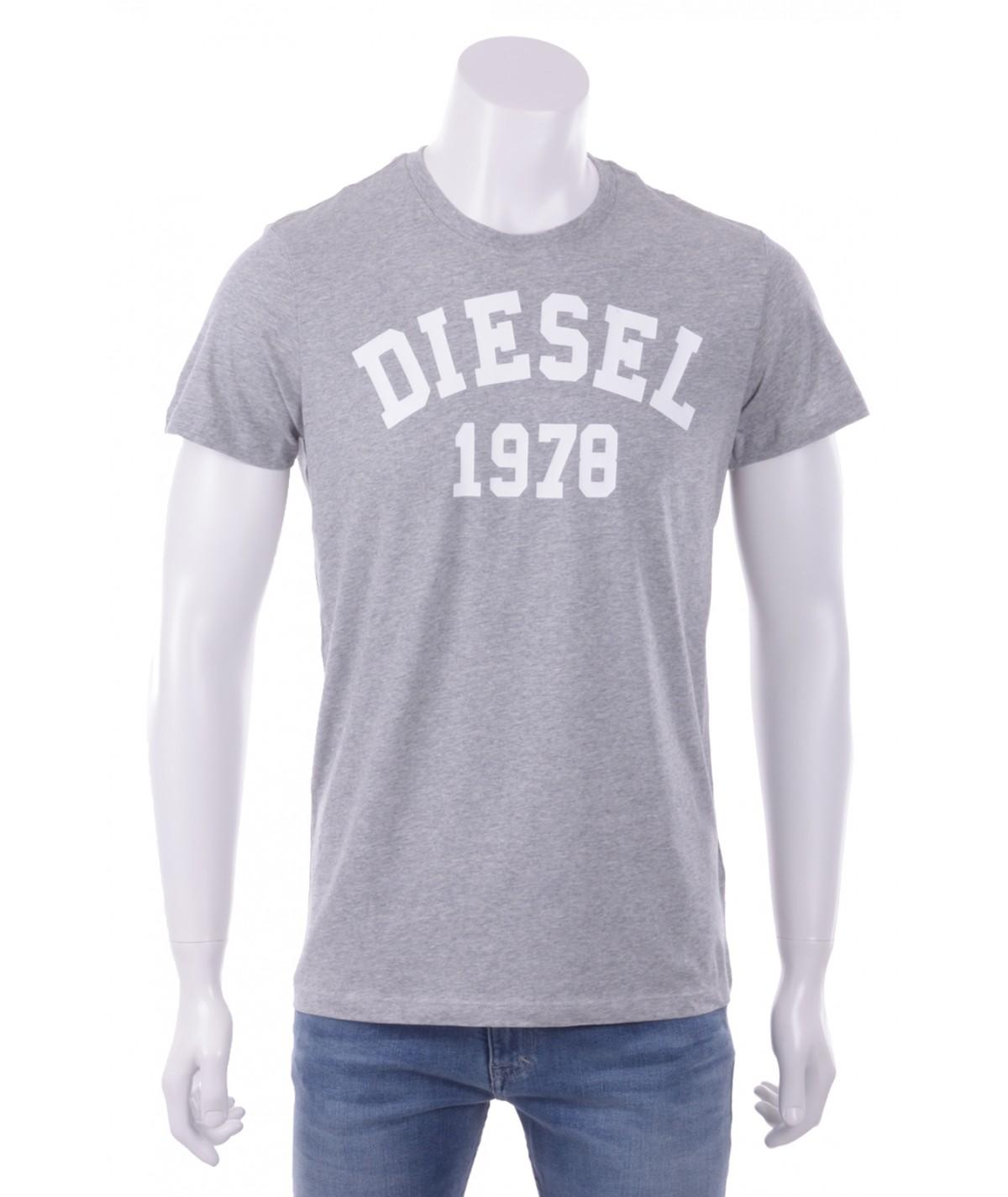 DIESEL T-Shirt Uomo Stampa...